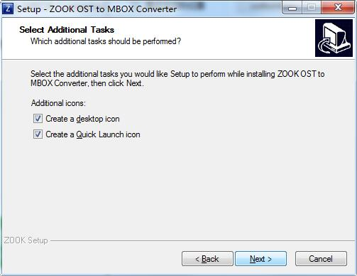 ZOOK OST to MBOX Converter截图