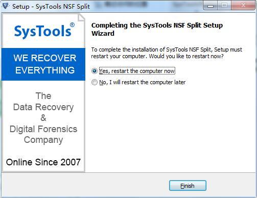 SysTools NSF Split截图