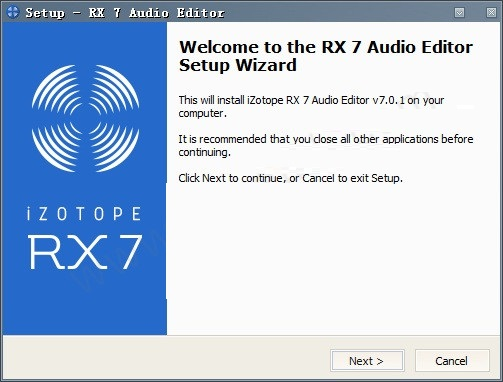 iZotope rx7中文截图