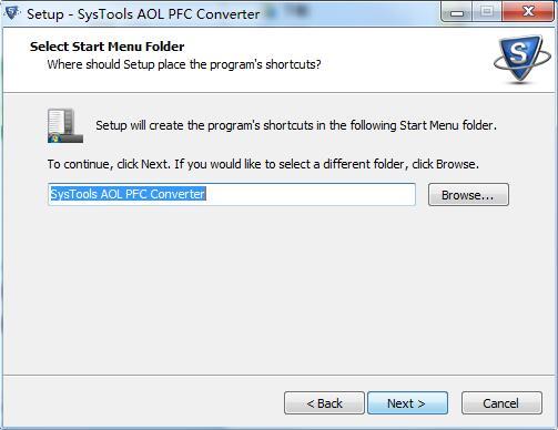 SysTools AOL PFC Converter截图