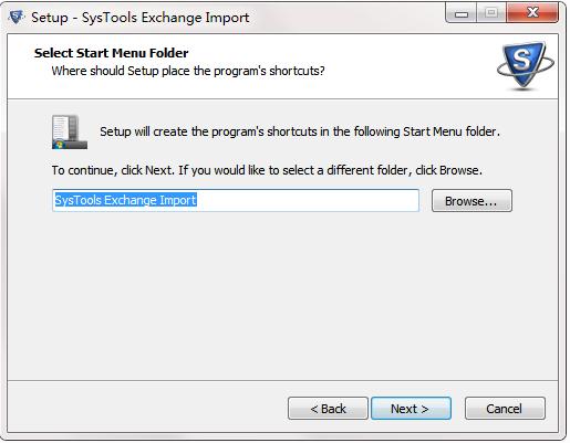 SysTools Exchange Import截图