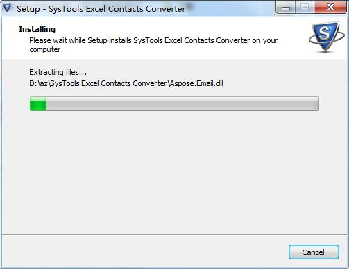 SysTools Excel Contacts Converter截图