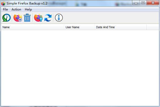 Simple Firefox Backup截图