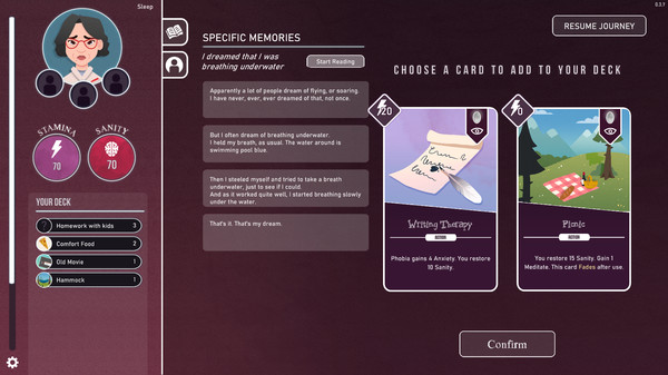 意识迷宫:克苏鲁卡牌截图