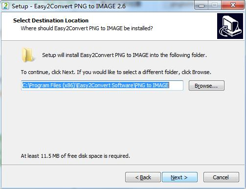 Easy2Convert PNG to IMAGE截图