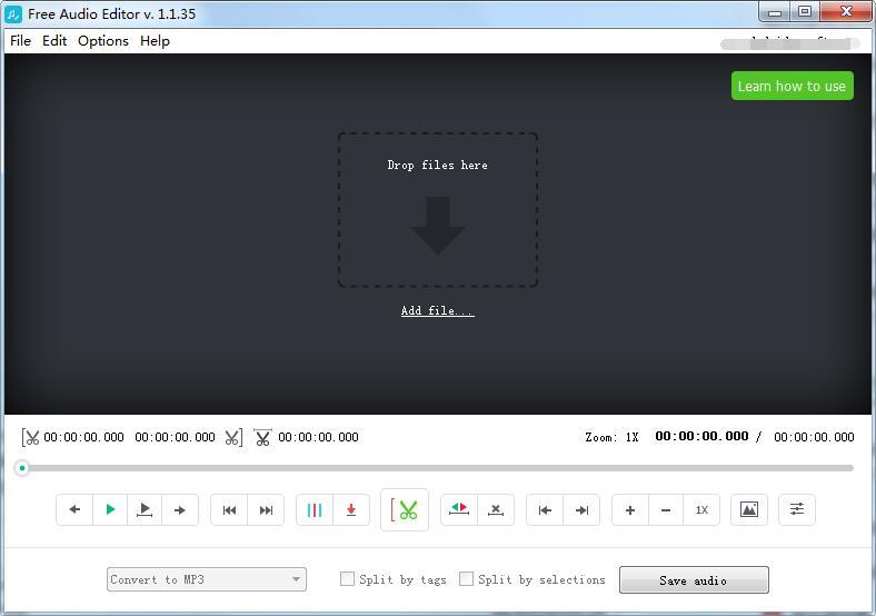 DVDVideosoft Free Audio Editor截图1