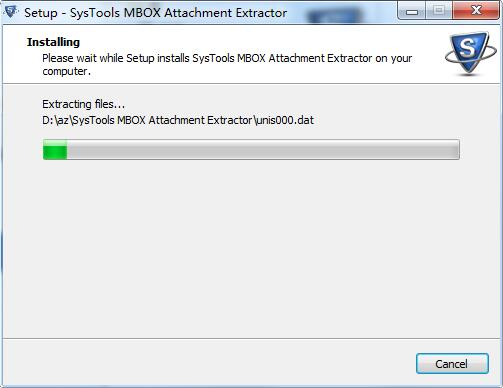 SysTools MBOX Attachment Extractor截图