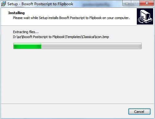 Boxoft Postscript to Flipbook截图