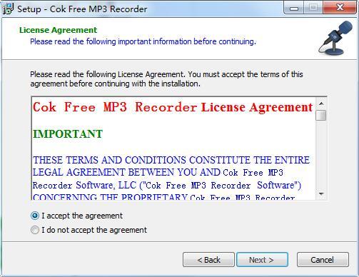 Cok Free MP3 Recorder截图
