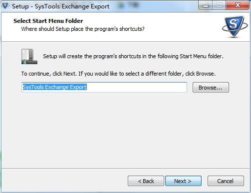 SysTools Exchange Export截图