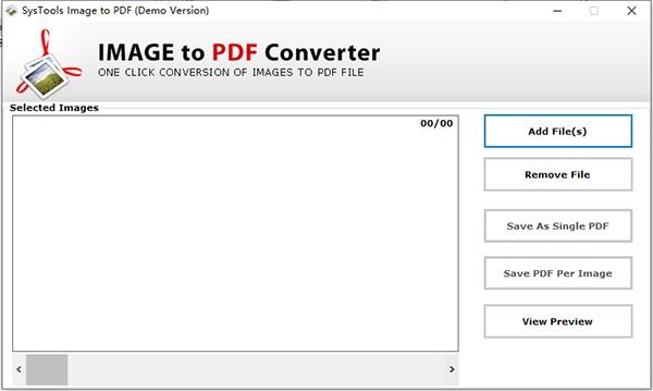 SysTools Image to PDF Converter截图1