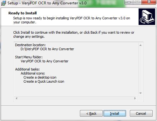 VeryPDF OCR to Any Converter截图