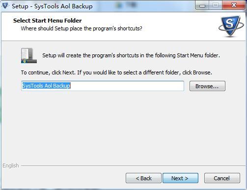 SysTools AOL Backup截图