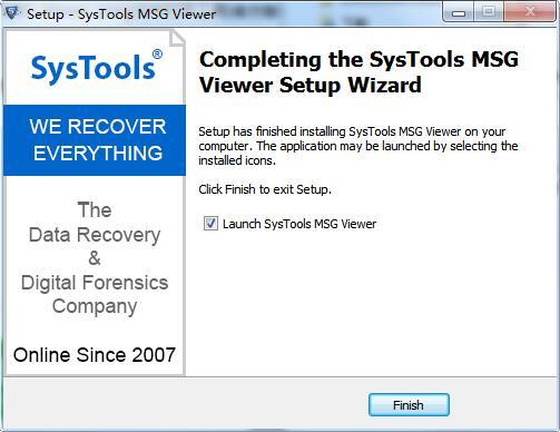 SysTools MSG Viewer截图