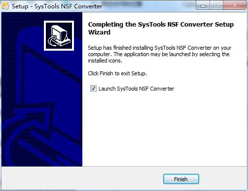 SysTools NSF Converter截图