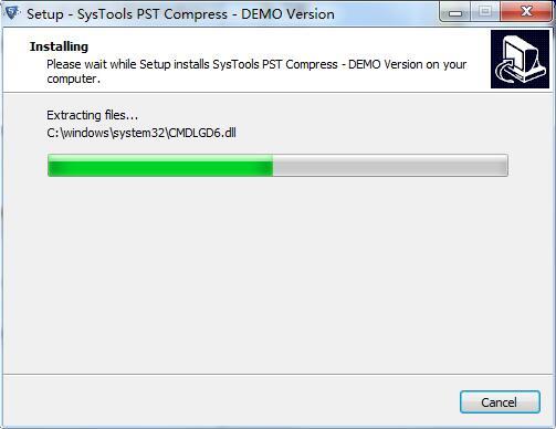 SysTools PST Compress截图