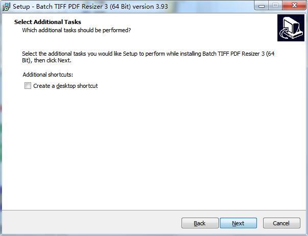 Batch TIFF PDF Resizer截图