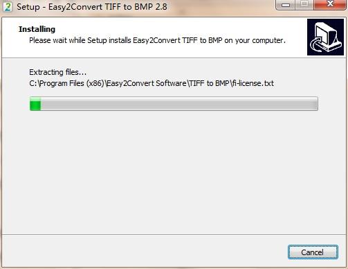 Easy2Convert TIFF to BMP截图