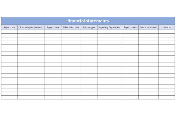 财务报表英文截图1