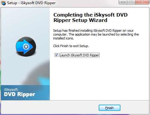 iSkysoft DVD Ripper截图