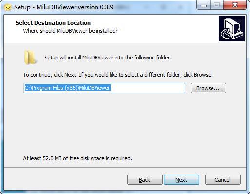 MiluDBViewer截图