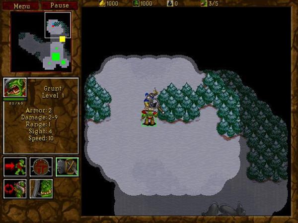 魔兽争霸2黑暗之门截图