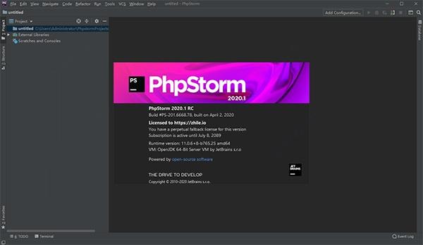 Phpstorm截图1