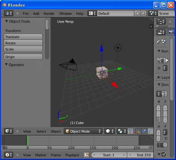 3D建模截图