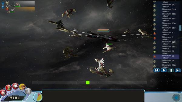 Tachyon Wars截图