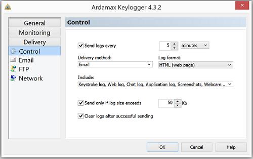 Ardamax Keylogger截图
