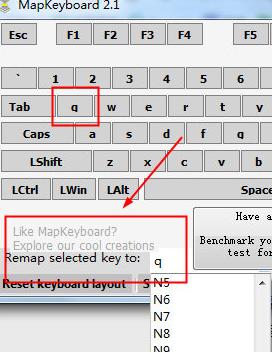 键盘键位修改器(MapKeyboard)截图