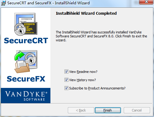SecureFX截图