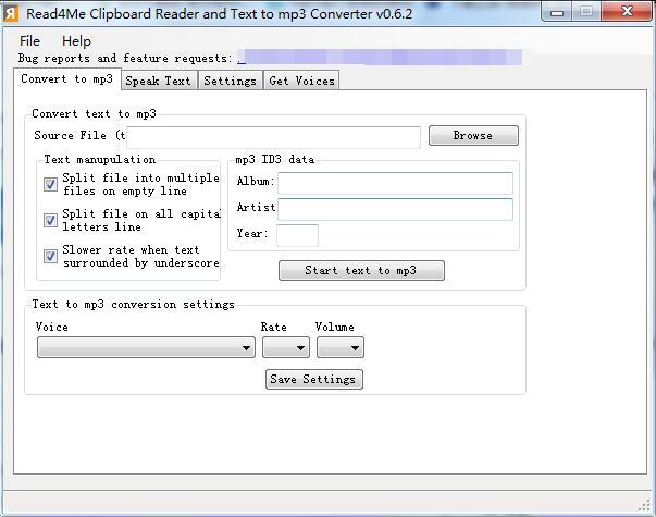 Read4Me Clipboard Reader截图