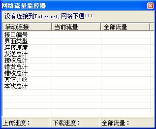 网络流量监控器截图