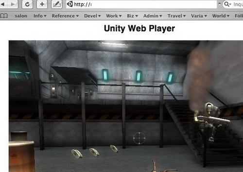 unitywebplayer截图