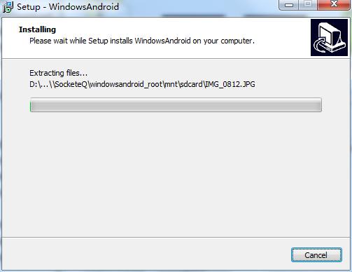 Windows android截图