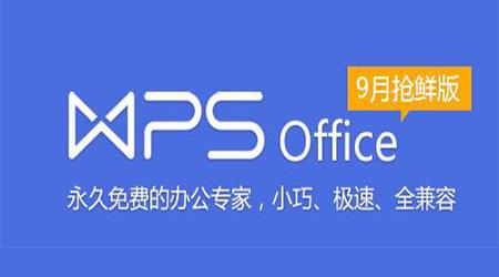 WPS Office 2016 抢鲜版段首LOGO