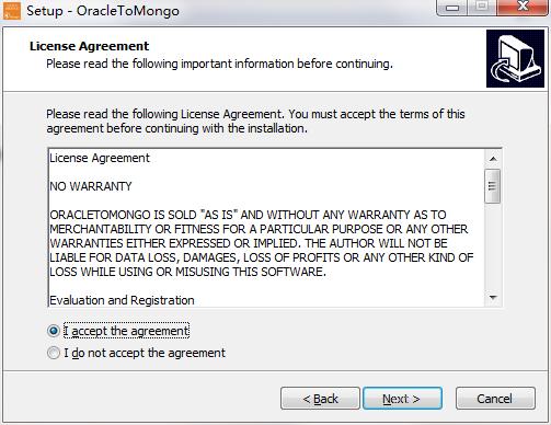 OracleToMongo截图