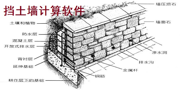 挡土墙计算截图