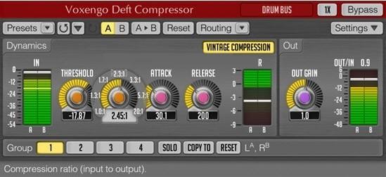 Voxengo Deft Compressor截图