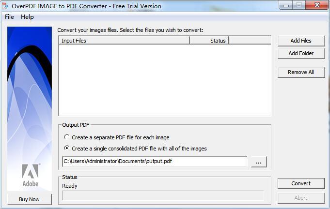 OverPDF Image to PDF Converter截图