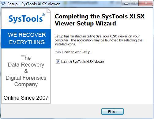 SysTools XLSX Viewer截图