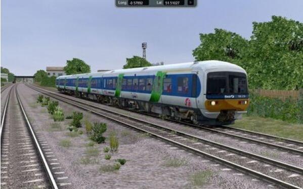 模拟火车中国站截图