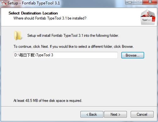 字体编辑器(TypeTool)截图