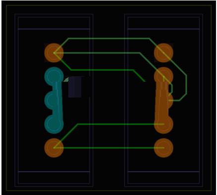 PCB版图设计工具(FreePCB)截图