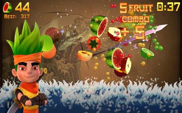水果忍者高清版截图