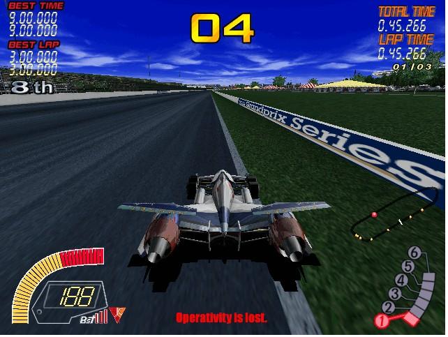 高智能方程式赛车游戏截图