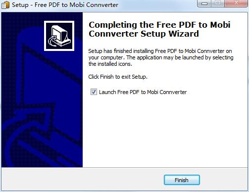 Free Pdf to Mobi Converter截图