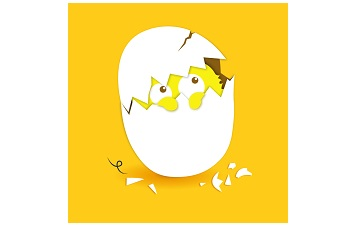 蛋壳绘本段首LOGO
