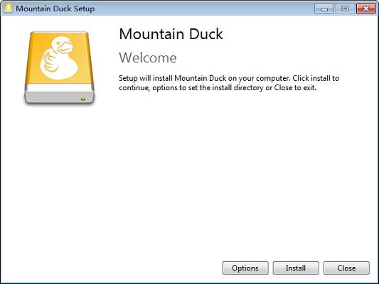 Mountain Duck截图